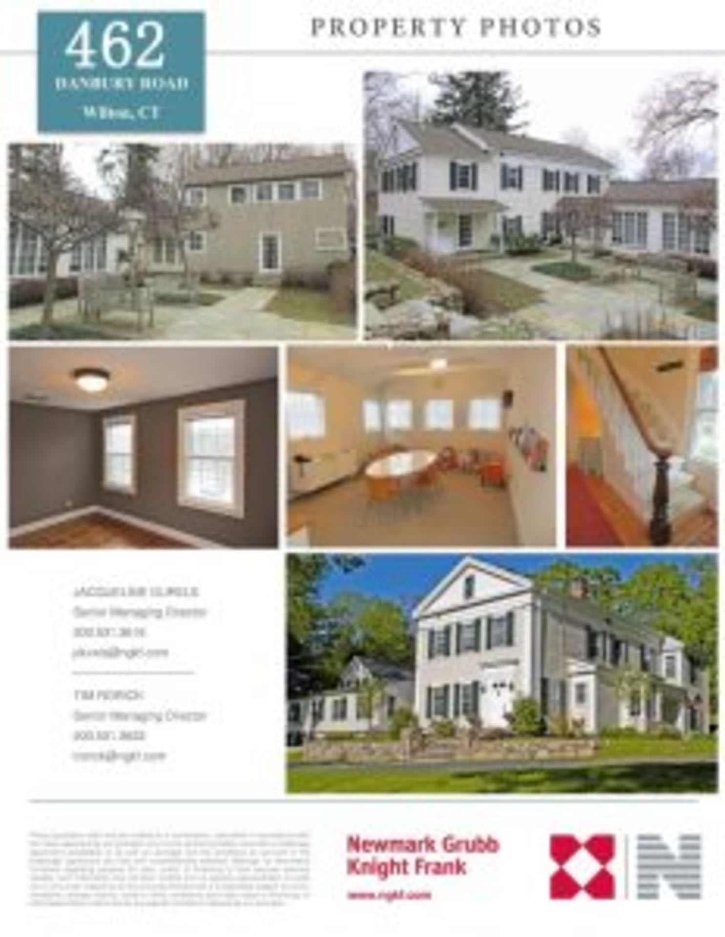 Property For Sale: 462 Danbury Road, Wilton, CT.